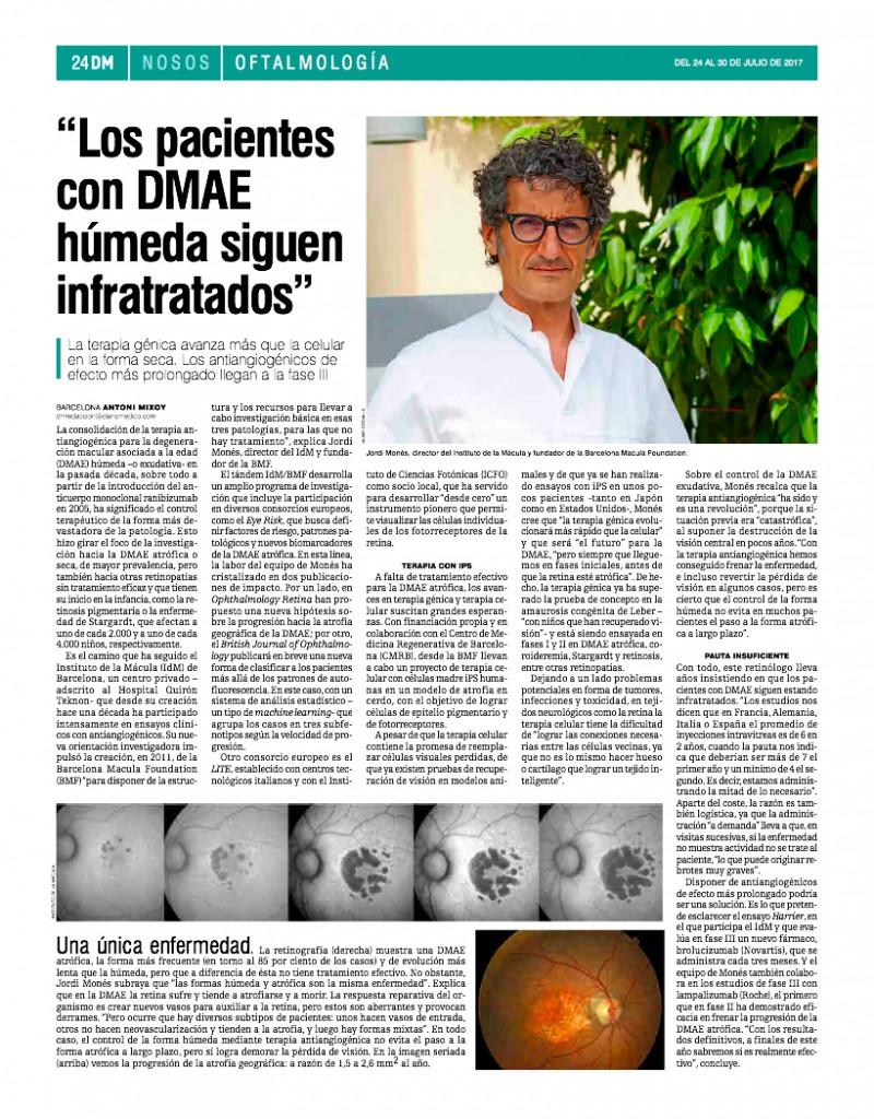 20170724 Diario Médico