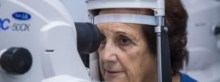Joaquima Bosch, pacient de glaucoma de l'Institut de la Màcula